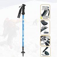 Robinson 鲁滨逊   碳纤维 手杖 登山杖 三节