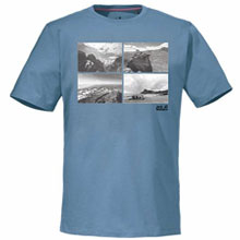 JackWolfskin 狼爪 1802661 男款 T恤 GREAT