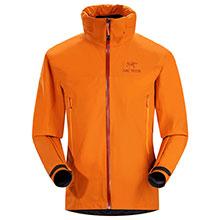 ARC´TERYX 始祖鸟 Zeta AR L06265500 男款 GORE TEX 轻量 单层 冲锋衣 铜橙色